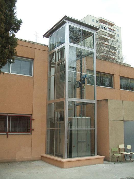 Ascensores exteriores madrid ventajas - Ascensores para casas ...