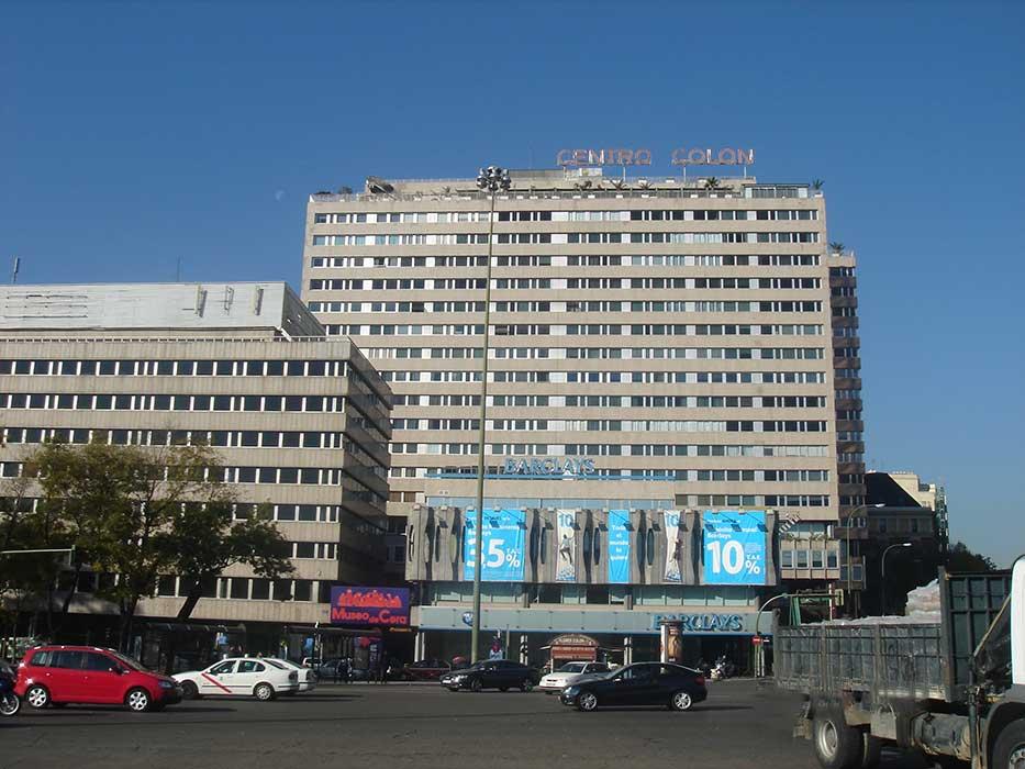 Mantenimiento Centro Colón