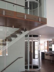 ascensores para viviendas unifamiliares diseño