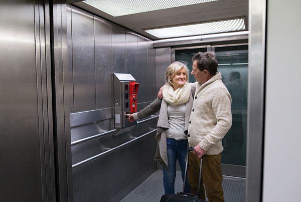 mecanismo de un ascensor