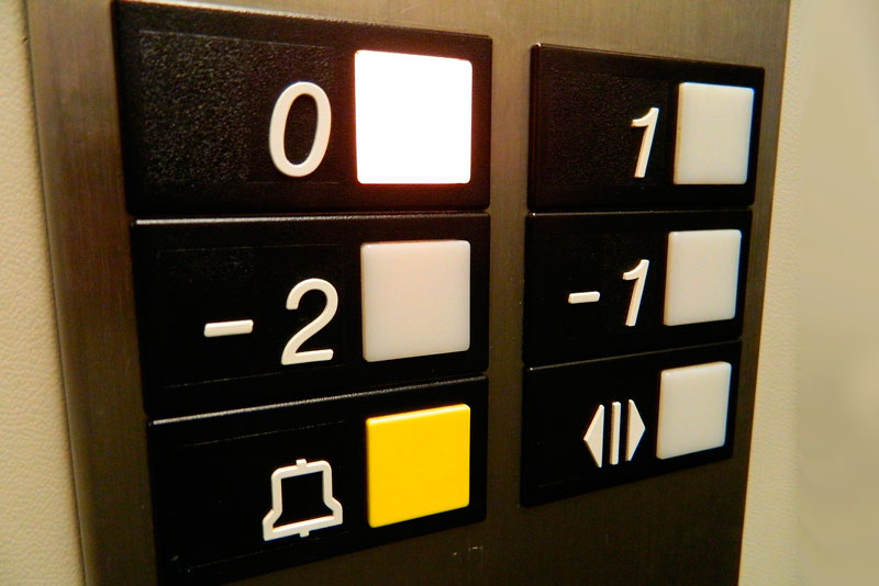 cambio de ascensor
