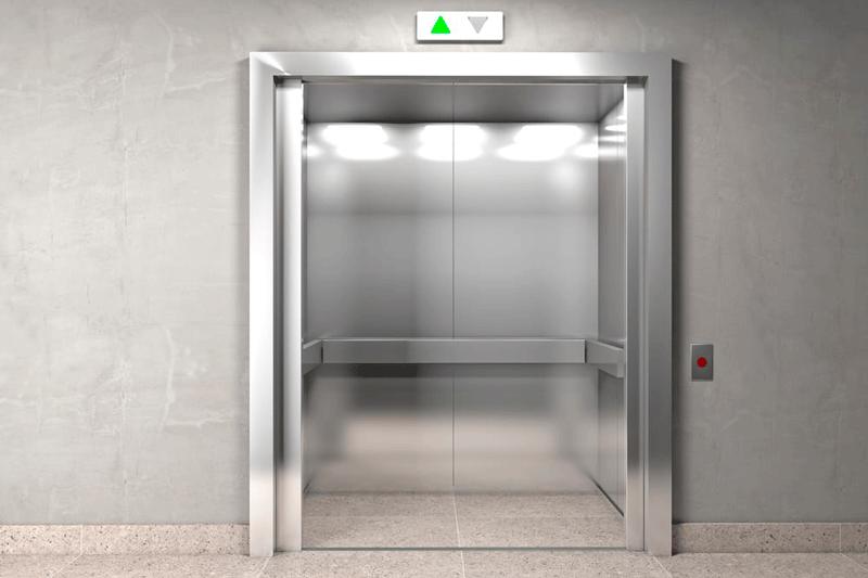 cambiar la cabina de un ascensor