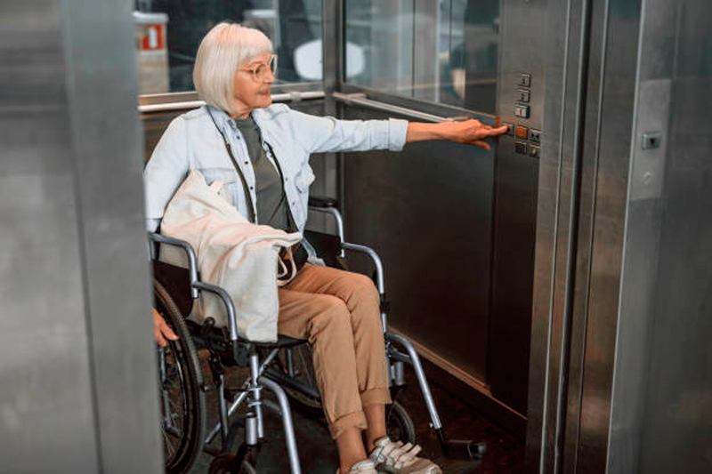 elegir las dimensiones del ascensor