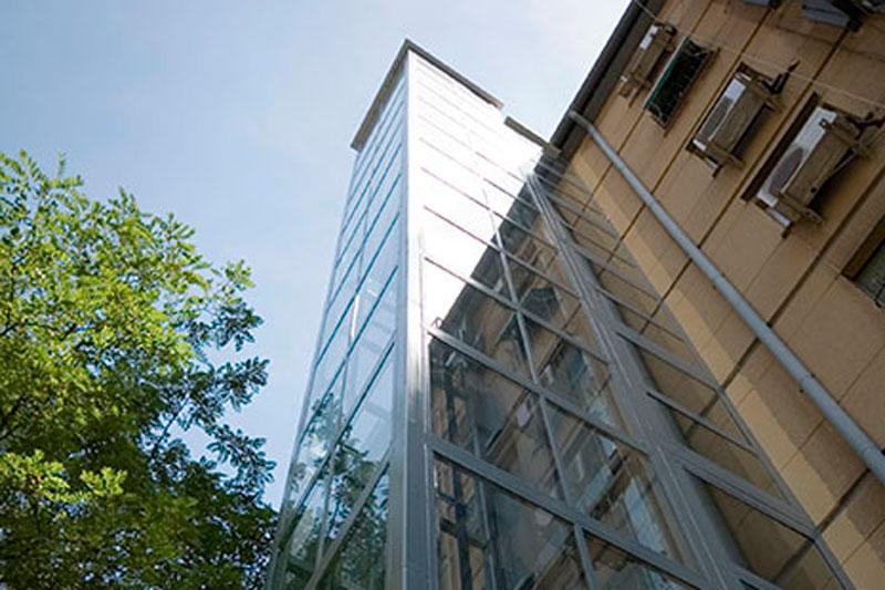 Instalar un ascensor en la fachada